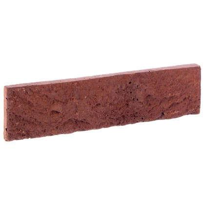 Плитка декоративная Дерри Брик цвет красный 0.62 м2