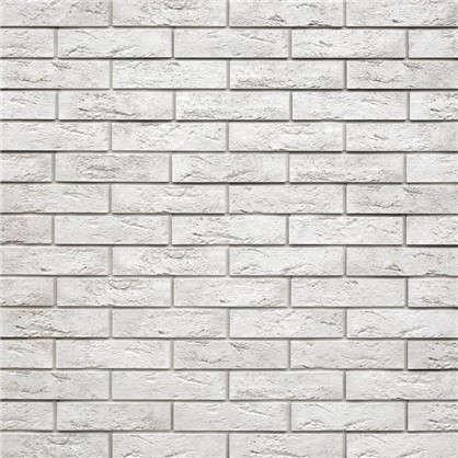 Купить Плитка декоративная гипсовая Лофт Брик цвет белый 1.04 м2 дешевле