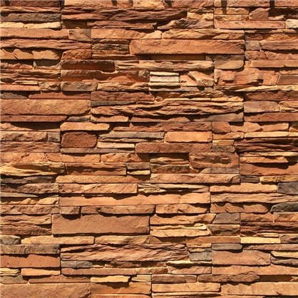 Плитка декоративная Кросс Фелл цвет коричневый 0.6 м2