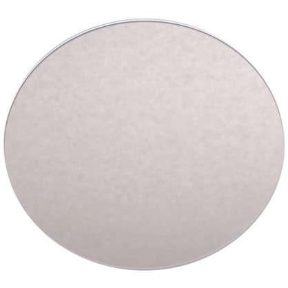 Плитка декоративная зеркальная Круг цвет бронзовый