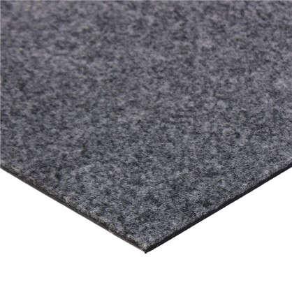 Купить Плитка ковровая модульная Стронг 3 м2 цвет серый дешевле