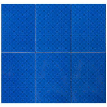 Плитка наcтенная Марокко 2Т 27.5х40 см 1.65 м2 цвет синий