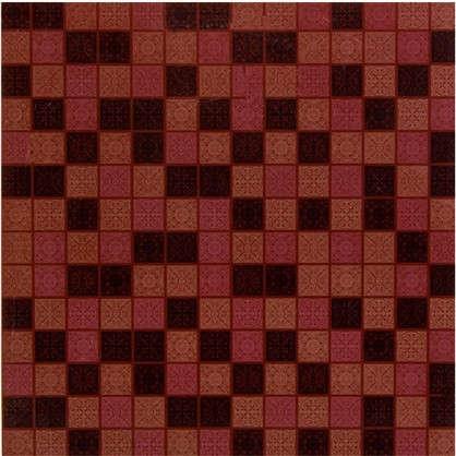 Купить Напольная плитка Arabesque 33х33 см 1.17 м2 цвет коричневый дешевле