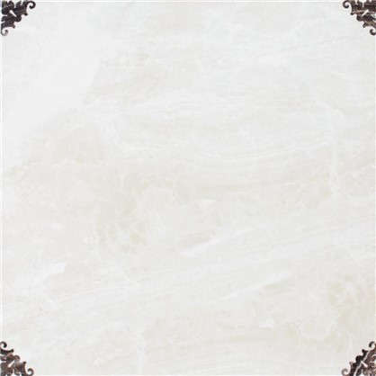 Напольная плитка Delma 33х33 см 1 м2 цвет белый