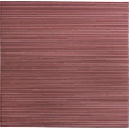 Купить Напольная плитка Дельта 30х30 см 0.99 м2 цвет розовый дешевле