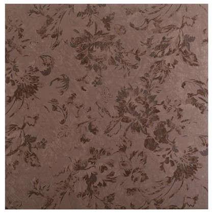 Напольная плитка Флориан 40х40 см 1.76 м2 цвет коричневый