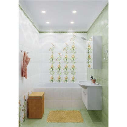Напольная плитка Jungle 33х33 см 1.17 м² цвет зелёный