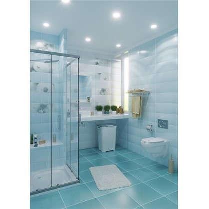 Купить Напольная плитка Концепт 40х40 см 1.76 м2 цвет голубой дешевле