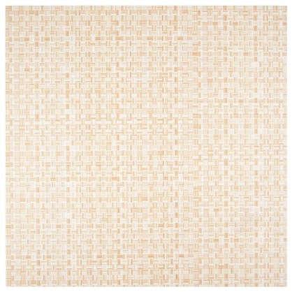 Купить Напольная плитка Космея 40х40 см 1.6 м2 цвет бежевый дешевле