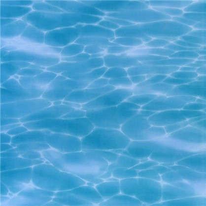 Напольная плитка Лагуна 41.8х41.8 см 1.747 м2 цвет голубой