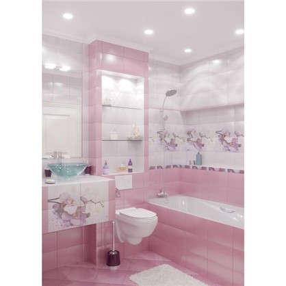 Купить Напольная плитка Orchid 30х30 см 1.08 м2 цвет розовый дешевле