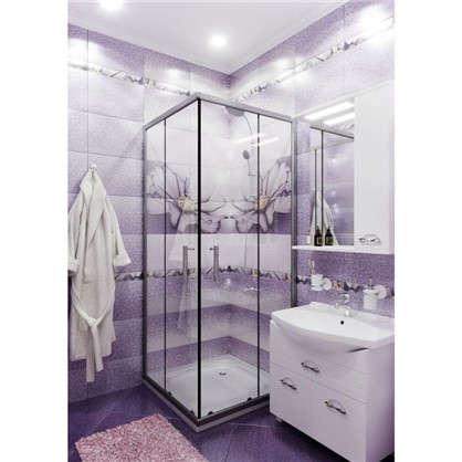 Напольная плитка Виола 40х40 см 1.6 м2 цвет фиолетовый