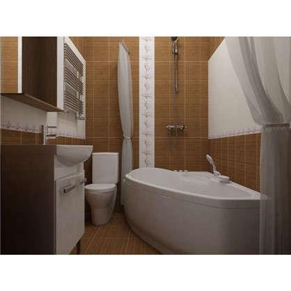 Купить Напольная плитка Wood 32.6x32.6 см 1.17 м2 цвет коричневый дешевле