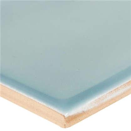 Плитка настенная Альвано 7.4х15 см 1 м2 цвет синий