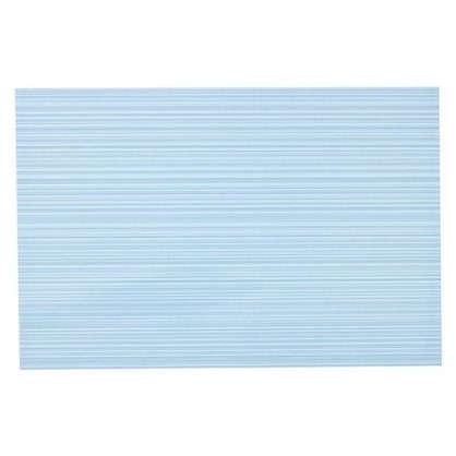 Купить Плитка настенная Дельта 30х20 см 1.44 м² цвет голубой дешевле