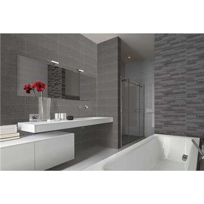 Плитка настенная Detroit Gris 20х60 см 1.44 м2 цвет серый