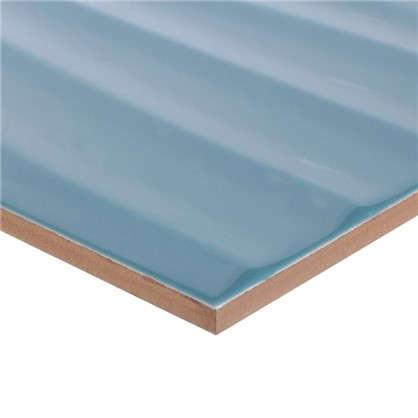 Плитка настенная Дюна 2Т 60х30 см 1.8 м2 цвет бирюзовый