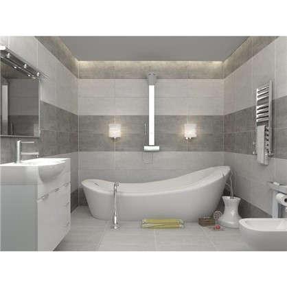 Плитка настенная Golden Tile Kendal 30х60 см 1.44 м2 цвет серый толщина 9 мм