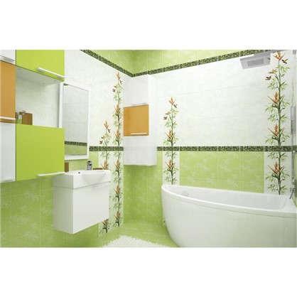 Плитка настенная Jungle 25x35 см 1.4 м2 цвет зеленый