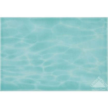 Плитка настенная Лагуна дно 24.9х36.4 см 1.54 м2 цвет голубой цена