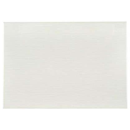 Плитка настенная Лотос верх 28х40 см 1.232 м2 цвет белый