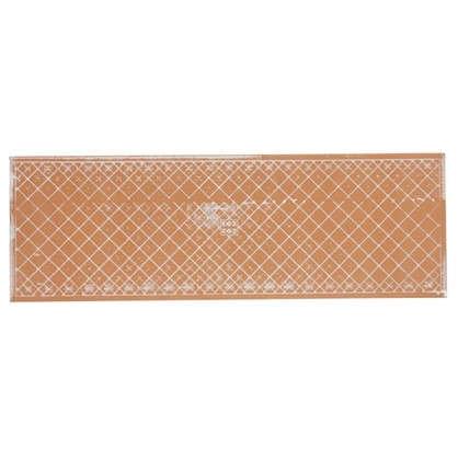 Плитка настенная Милан 20х60 см 1.2 м2 цвет коричневый