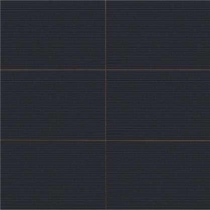 Плитка настенная Ночь 25x50 см 1.375 м2 цвет чёрный