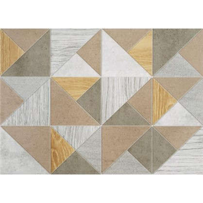 Плитка настенная Wood Мозаик 35x25 см 1.4 м2