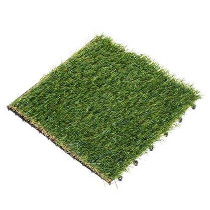 Купить Плитка садовая Искусственная трава 40х40х2 см дешевле