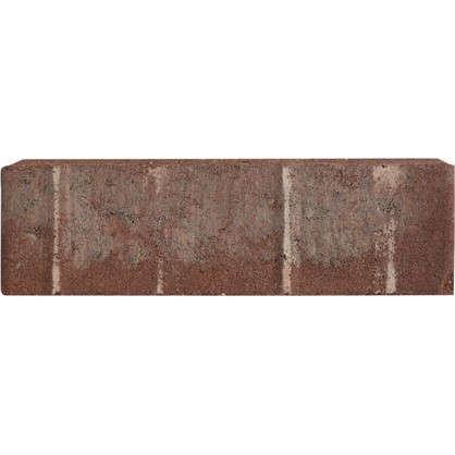 Плитка тротуарная двухслойная 200х100x60 мм ЛДСП цвет красный