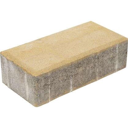 Плитка тротуарная двухслойная 200х100x60 мм ЛДСП цвет песочный