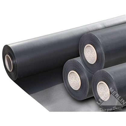Плёнка ПВХ 0.5 мм 8 м цвет чёрный