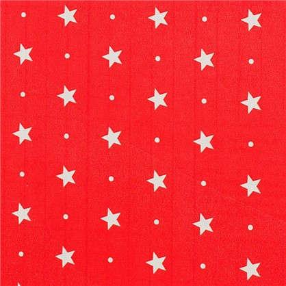 Пленка самоклеящаяся Красные звездочки 045х2 м