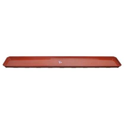 Купить Поддон для балконного ящика 100 см полипропилен цвет терракотовый дешевле