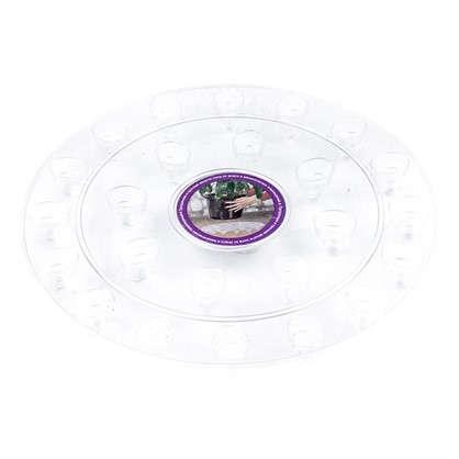 Поддон для горшка круглый 15х20х15 см поликарбонат
