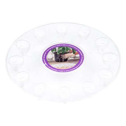 Поддон для горшка круглый 18х20х18 см поликарбонат