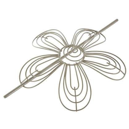 Подхват для штор 160 мм металл цвет серо-бежевый