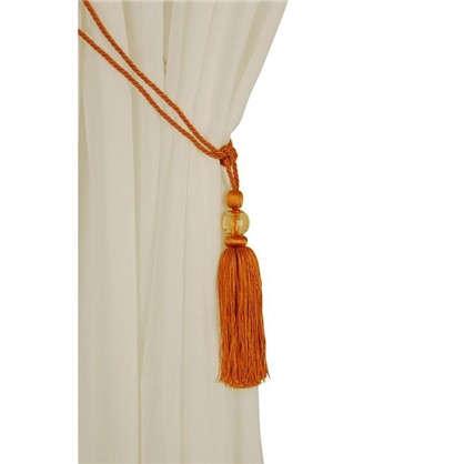 Купить Подхват для штор 500 мм цвет оранжевый дешевле