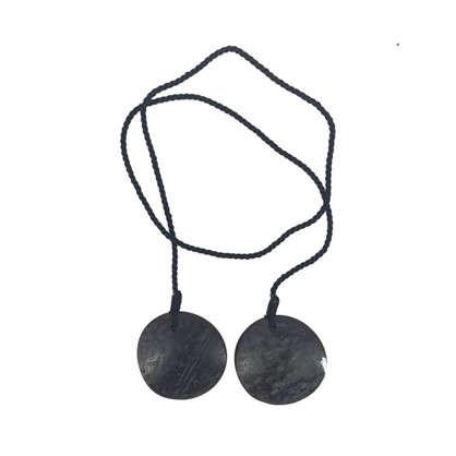 Купить Подхват для штор Аниса 93 см цвет темно-серый дешевле