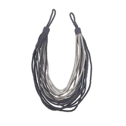 Купить Подхват для штор Эмма 88 см цвет серый дешевле