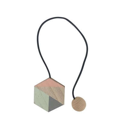 Подхват магнитный Алда 6х44 см цвет розовый/ серый/ белый