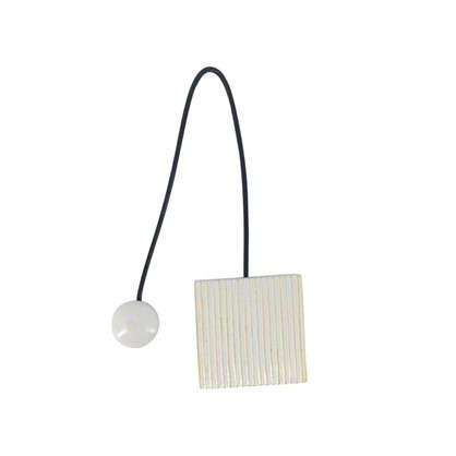 Подхват магнитный Белиса 5.8х34 см цвет белый