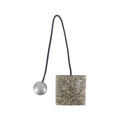 Подхват магнитный Гала 5.8х34 см цвет серебряный
