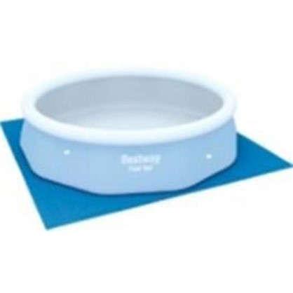 Подложка под бассейн 335x335 см полиэтилен цвет голубой