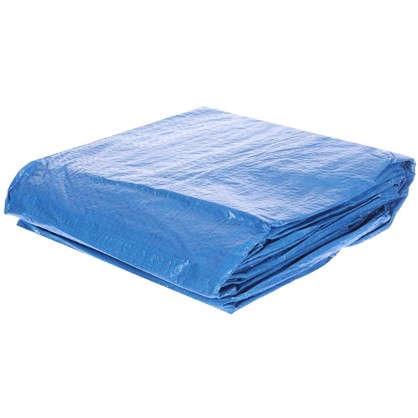 Купить Подложка под бассейн 396x396 см полиэтилен цвет голубой дешевле