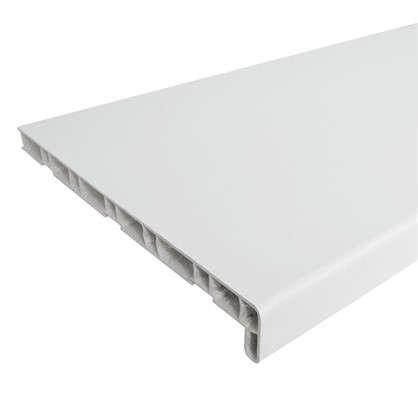 Подоконник ПВХ 2000х300 мм цвет белый
