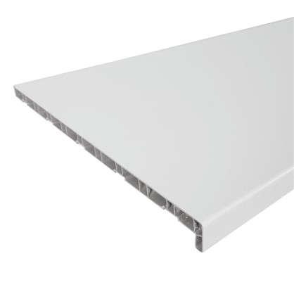 Купить Подоконник ПВХ 2000х500 мм цвет белый дешевле