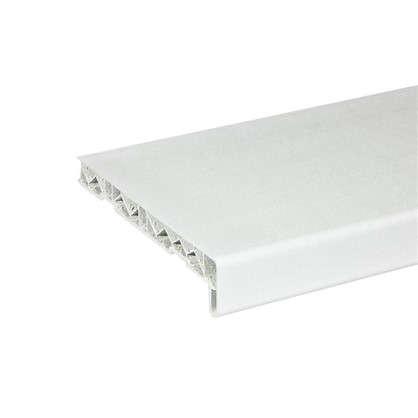 Подоконник ПВХ 200x3000 мм цвет белый