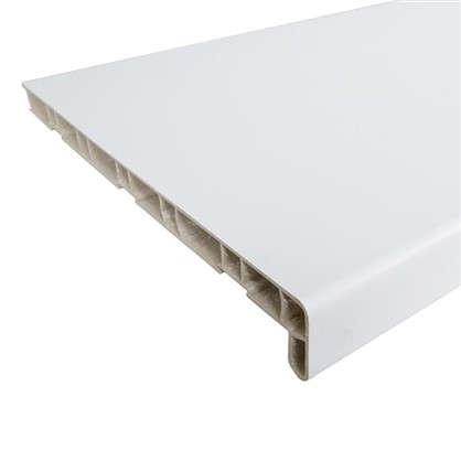Подоконник пластиковый 3000х300 мм цвет белый