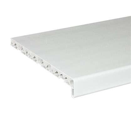 Подоконник пластиковый 300x1500 мм цвет белый